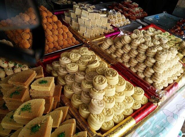 ہولی کا تہوار ہندوستانی کھانے